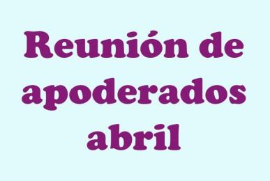 Reunión abril