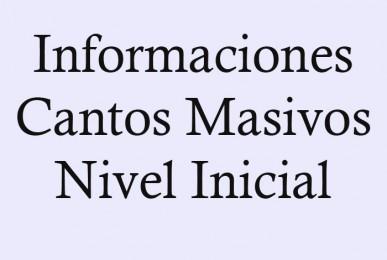 Cantos Masivos Informaciones